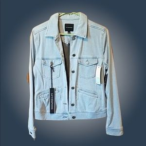 NWT Liverpool Faux Jean Jacket S